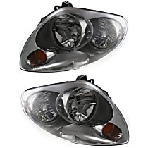 Driver and Passenger Side HID/Xenon Headlight, With Bulb(s) - Sedan