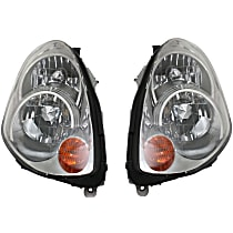 Driver and Passenger Side HID/Xenon Headlight, Without Bulb(s) - From 1-05