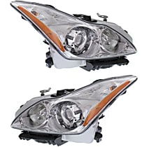 Driver and Passenger Side HID/Xenon Headlight, With Bulb(s) - Convertible/Coupe