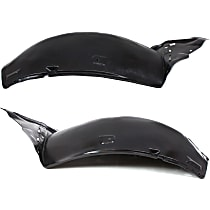 Fender Liner - Front, Driver and Passenger Side, Front Section, Convertible/Coupe, without Premium Package