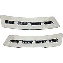 Fender Vents - Chrome