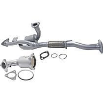 Catalytic Converter - 47-State Legal (Cannot ship to CA, NY or ME) - Center and Radiator Side