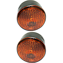 CAPA Certified Driver and Passenger Side Turn Signal Light