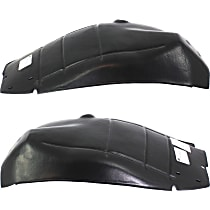 Fender Liner - Front, Driver and Passenger Side, Rear Section