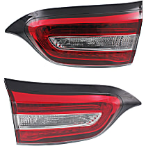CAPA Certified Driver and Passenger Side, Inner Tail Light, With bulb(s)