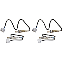Oxygen Sensor - Before and After Catalytic Converter, Driver and Passenger Side, Set of 4