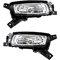 Fog Light - Driver and Passenger Side, without Sport Package