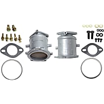 Catalytic Converter Front Firewall and Radiator Side, For Models with 3.0L & 3.5L Eng California Emissions 47-State Legal (Cannot ship to CA, NY or ME)
