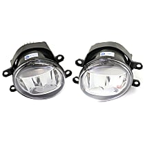 Fog Light Assembly - Driver and Passenger Side, LED, without F Sport Package