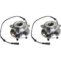 Rear Wheel Hub Bearing Assembly Driver and Passenger Side For 4WD Models