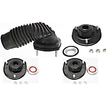 Shock and Strut Mount - Front and Rear, Driver and Passenger Side, Set of 4
