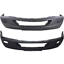 Front Bumper Cover, Textured