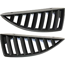 Grille Assembly - Paintable Shell and Insert, Driver and Passenger Side