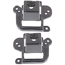 Replacement Grille Bracket - SET-REPM072303 - Driver and Passenger Side, Black, Direct Fit