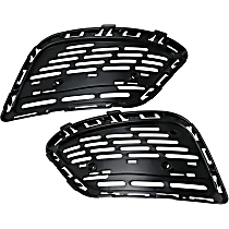 Replacement Grille Bracket - SET-REPM072305 - Driver and Passenger Side, Primed, Direct Fit