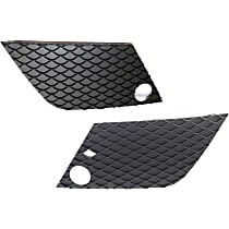 Grille Cover - Textured Black, Driver and Passenger Side