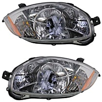 Driver and Passenger Side Headlight, With bulb(s) - (Convertible 2.4L Eng., From 01-07)/(Coupe/Hatchback 08-12)