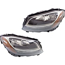 Driver and Passenger Side Headlight, With bulb(s) - (15-16 Sedan) / (17 Coupe)