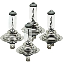 Headlight Bulb - Driver and Passenger Side, H7 Bulb Type, High Beam or Low-Beam, Set of 4