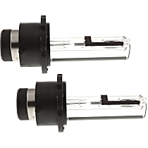 Headlight Bulb - Driver and Passenger Side, D2R Bulb Type, Low Beam, Set of 2