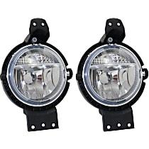 Fog Light Lens and Housing - Driver and Passenger Side