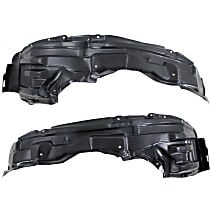 Fender Liner - Front, Driver and Passenger Side, without Insulation Foam