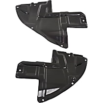 Fender Liner - Front, Driver and Passenger Side, Guard Extension