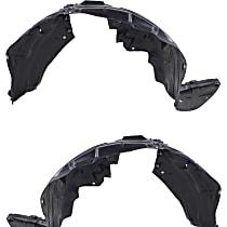 Fender Liner - Front, Driver and Passenger Side, Inner Panel