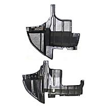 Driver Side Splash Shield For 2007-2013 Mitsubishi Outlander Front