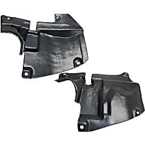Fender Liner - Front, Driver and Passenger Side, Rear Section