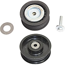 Accessory Belt Idler Pulley - Direct Fit, Set of 2