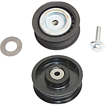 Replacement SET-REPM317406-2 Accessory Belt Idler Pulley - Direct Fit, Set of 2