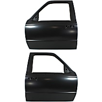Front, Driver and Passenger Side Door Shell