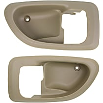 Door Handle Trim, Beige