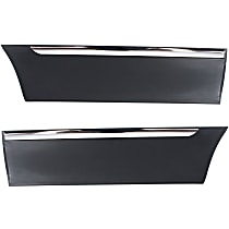 Rear, Driver and Passenger Side Door Molding and Beltlines