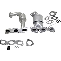 Catalytic Converter Front Firewall and Radiator Side, For Models with 3.0L Eng California Emissions 47-State Legal (Cannot ship to CA, NY or ME)