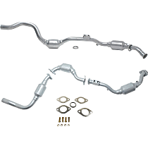 Front Driver and Passenger Side Catalytic Converter For Models with 3.2L Eng 46-State Legal (Cannot ship to CA, CO, NY or ME)