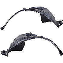 Fender Liner - Front, Driver and Passenger Side, Except SR Model