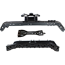 Radiator Support - Center, Upper Tie Bar, with Lower Tie Bar and Center Hood Latch Support