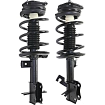 Front OE Replacement Loaded Strut Assembly Driver and Passenger Side, For S, SL, & SR Models