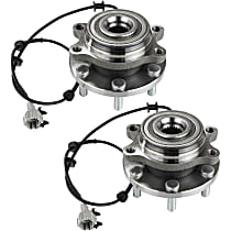 Front Wheel Hub & Bearing Assembly Driver and Passenger Side, For 4WD/AWD Models