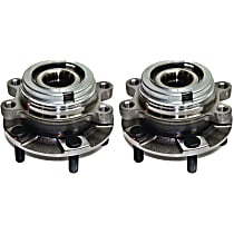 Front Wheel Hub & Bearing Assembly Driver and Passenger side