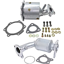 Catalytic Converter Front Firewall and Radiator Side, For Models with 3.5L Eng California Emissions 47-State Legal (Cannot ship to CA, NY or ME)