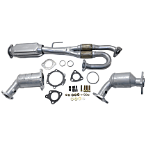 Catalytic Converter - 47-State Legal (Cannot ship to CA, NY or ME) - Rear, Firewall and Radiator Side