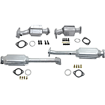 Catalytic Converter - 47-State Legal (Cannot ship to CA, NY or ME) - Front and Rear, Driver and Passenger Side