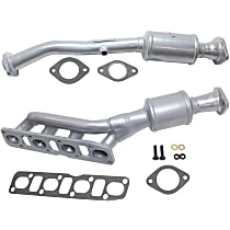 Front and Rear, Driver Side Catalytic Converter For Models with 5.6L Eng 46-State Legal (Cannot ship to CA, CO, NY or ME) Set of 2