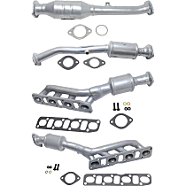 Front Passenger Side Catalytic Converter with Integrated Exhaust Manifold For Models with 5.6L Eng 46-State Legal (Cannot ship to CA, CO, NY or ME)