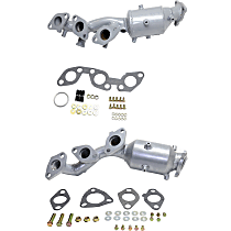 Catalytic Converter - 47-State Legal (Cannot ship to CA, NY or ME) - Front, Driver and Passenger Side