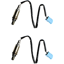 Oxygen Sensor - Before Catalytic Converter, Front and Rear, Set of 2