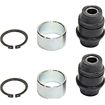 Steering Knuckle Bushing - Rubber, Direct Fit, Set of 2